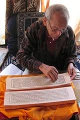 Gen Jamspal w Prajnaparamita Ladakh 2010